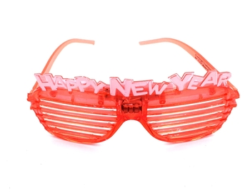 Image New Years Eve Flashing Glasses Adult Size
