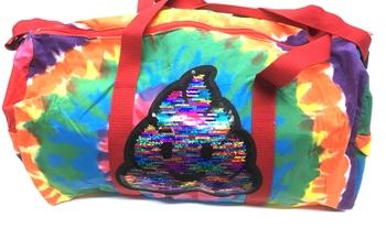 Image Rainbow Poop Duffel Bag