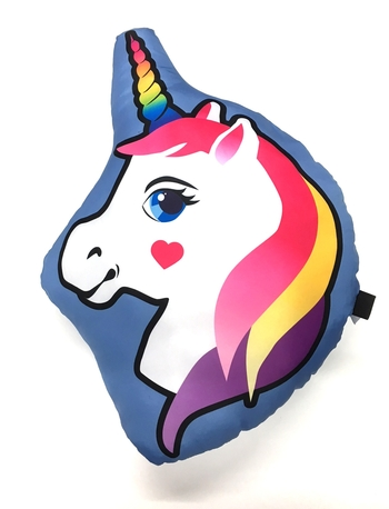 Image Unicorn Die Cut Autograph Pillow