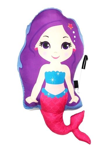 Image Mermaid Die Cut Autograph Pillow