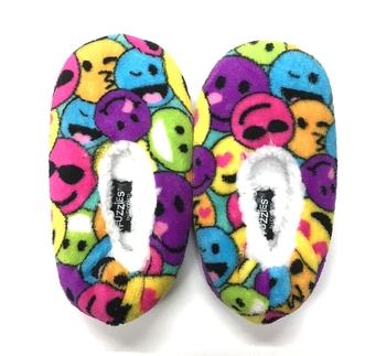 Image Multi Emoji Fuzzie Slippers