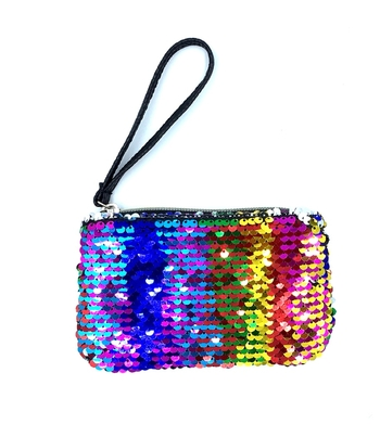 Image Sequin Color Changing Purse