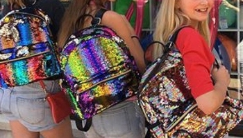 Image Sequin Color Changing Backpack