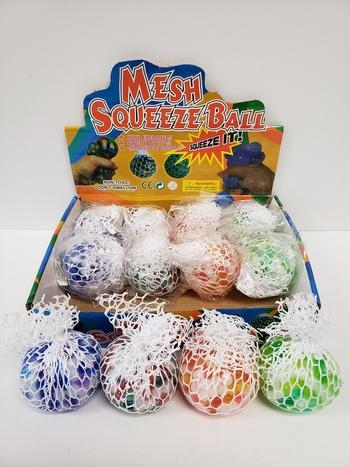 Image Rainbow Beads Meshball