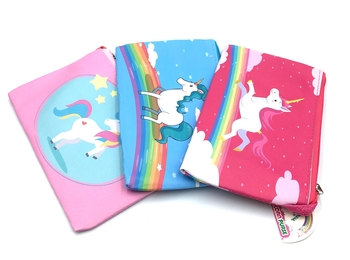 Image Unicorn Zippered Purse