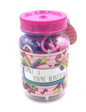 Image You are Beautiful Mani Pedi Jar