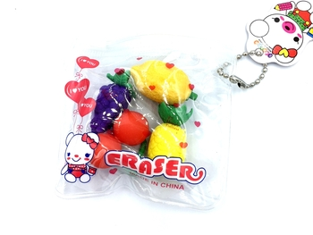 Image Fruit Eraser Pouch