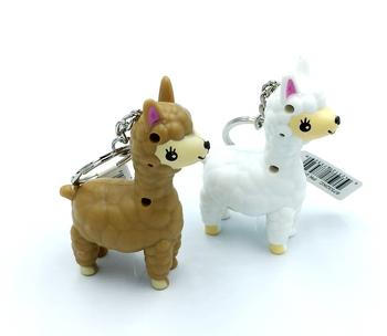 Image Llama Light up Keychain