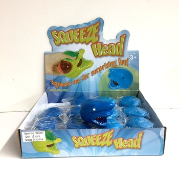Image Shark Head Squeeze Toy