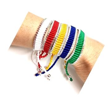 Image Color War Link  Pulltie Bracelet