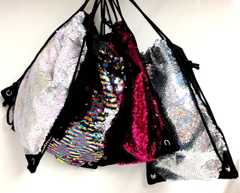 Image Sequin Sling Bag