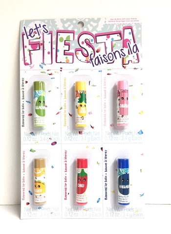 Image Fiesta Lip Balm Set