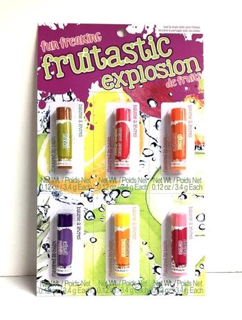 Image Fruitastic Explosion Lip Balm Set
