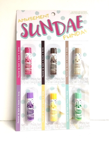 Image Sundae Funday Lip Balm Set