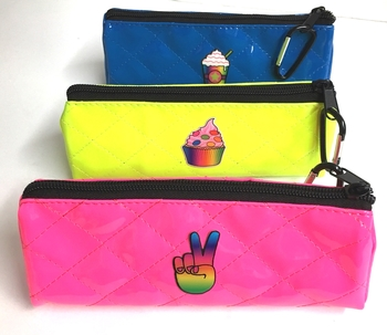 Image Pencil Case with Patch Mask Bag