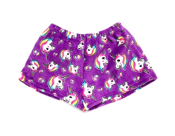 Image Pretty Unicorn Fuzzies Shorts