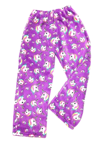 Image Pretty Unicorn Fuzzies Pants