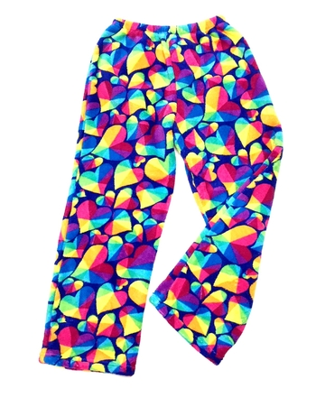 Image Prisms Fuzzie Pants