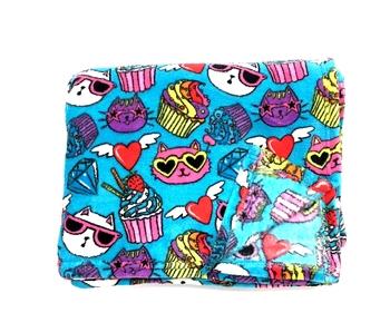 Image Cats & Cupcakes Fuzzie Blanket