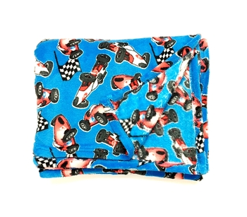 Image Racing Car Fuzzies Blanket