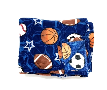 Image Sports on Sports Fuzzies Blanket