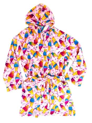 Image Pastel Cones Fuzzies Robe