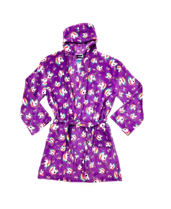Image Pretty Unicorns Fuzzies Robe