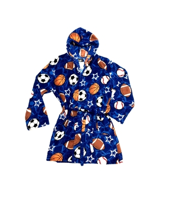 Image Sports on Sports Fuzzies Robe