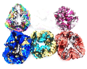 Image Sequin Scrunchie