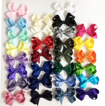 Image Toddler Grossgrain Bow Clippie