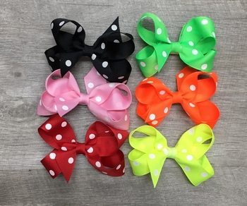 Image Big Dot Small Standup Bow Clippie