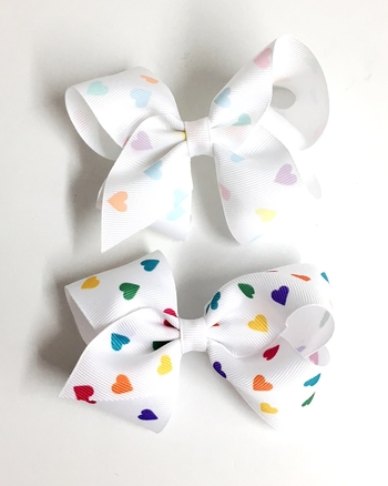 Image Heart Medium Stand Up Bow