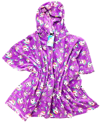Image Pretty Unicorns Poncho