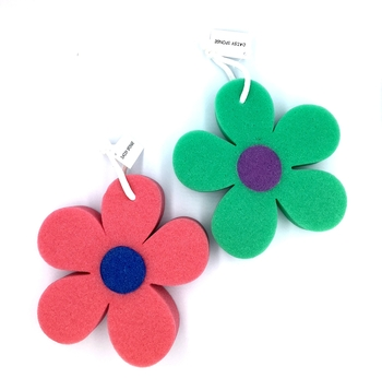 Image Flower Sponge Loofah