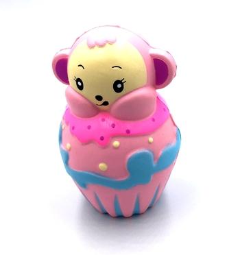 Image Monkey Cupcake Squishie