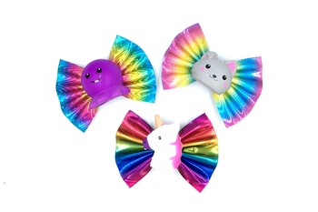 Image Rainbow Squishie Clippie