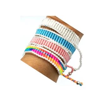 Image Pastel Links Bracelet
