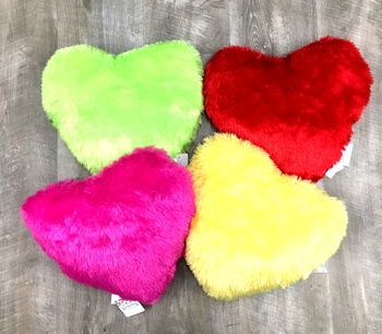 Image Plush Heart Pillow