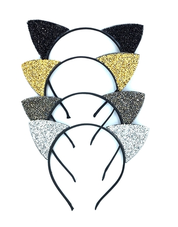 Image Holiday Cat Ears Headband