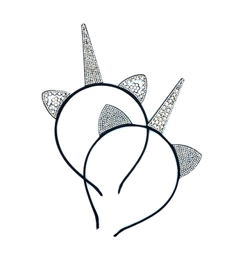 Image Rhinestone Cat Unicorn Headbands