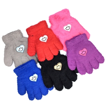 Image Child Gloves with Heart Smiles