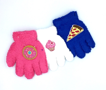 Image Child Size Junk Food Gloves