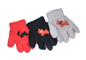Image Child Size Scotty Dog Gloves