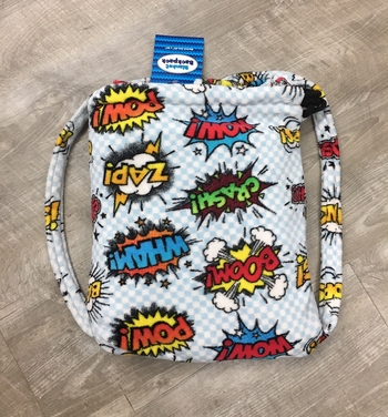 Image Pow Fuzzie Blanket Backpack