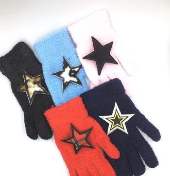 Image Fuzzy Star Gloves