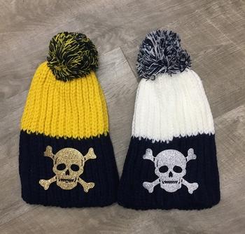 Image Skull Pom Hat