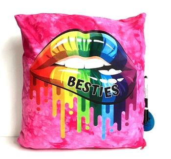 Image Bestie Lips Autograph Pillow