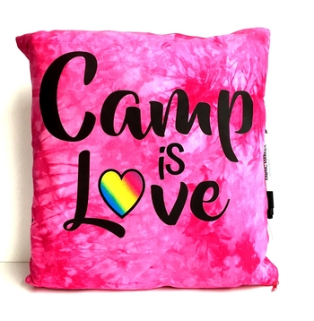 Image Camp is Love Autograph Pillow