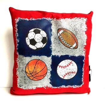 Image Quad Sports Autograph Pillow