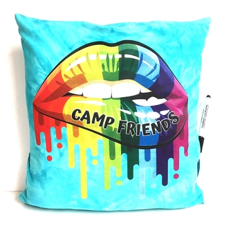 Image Camp Friends Lips Autograph Pillow